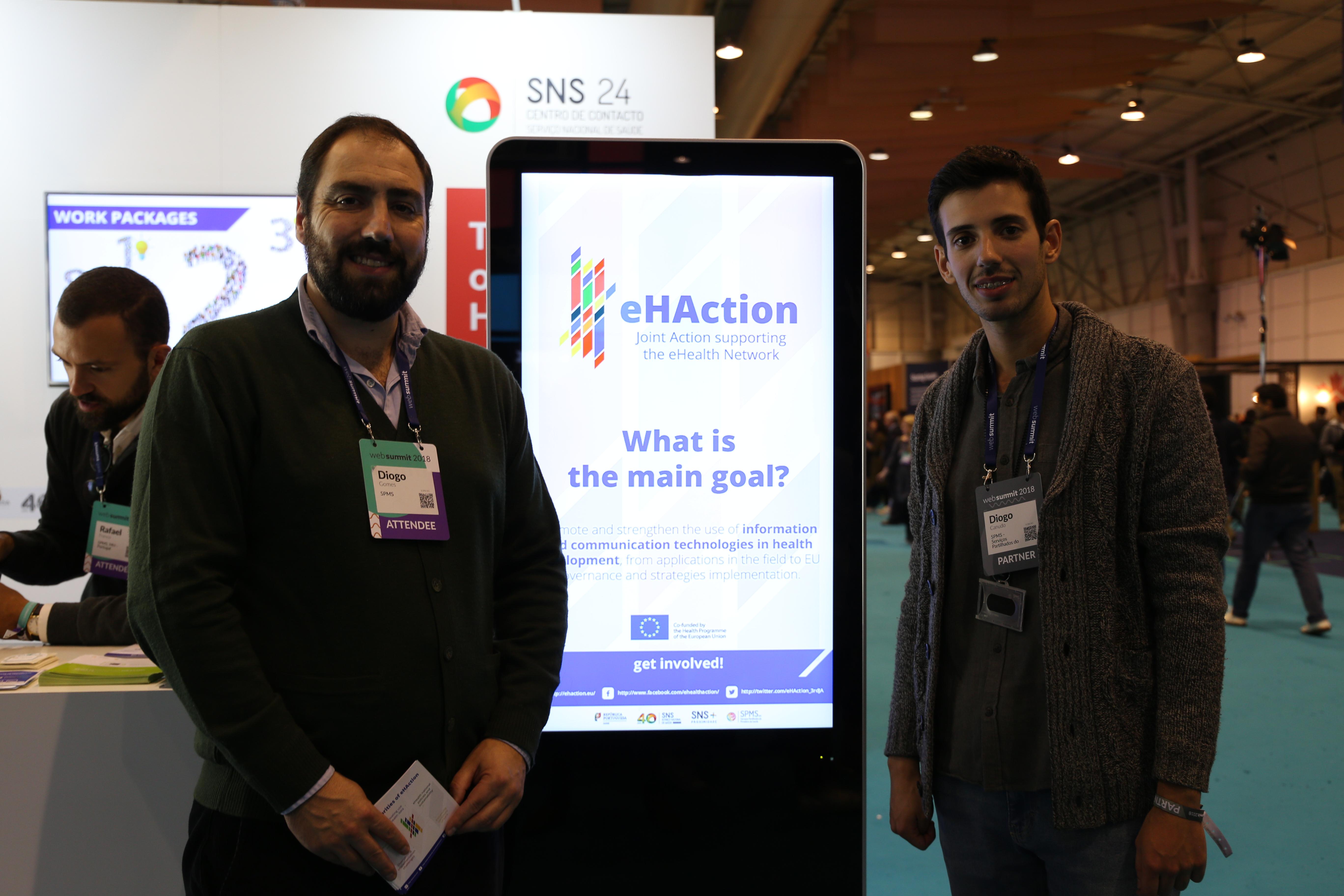 imagem do post do eHAction is attending Web Summit 2018