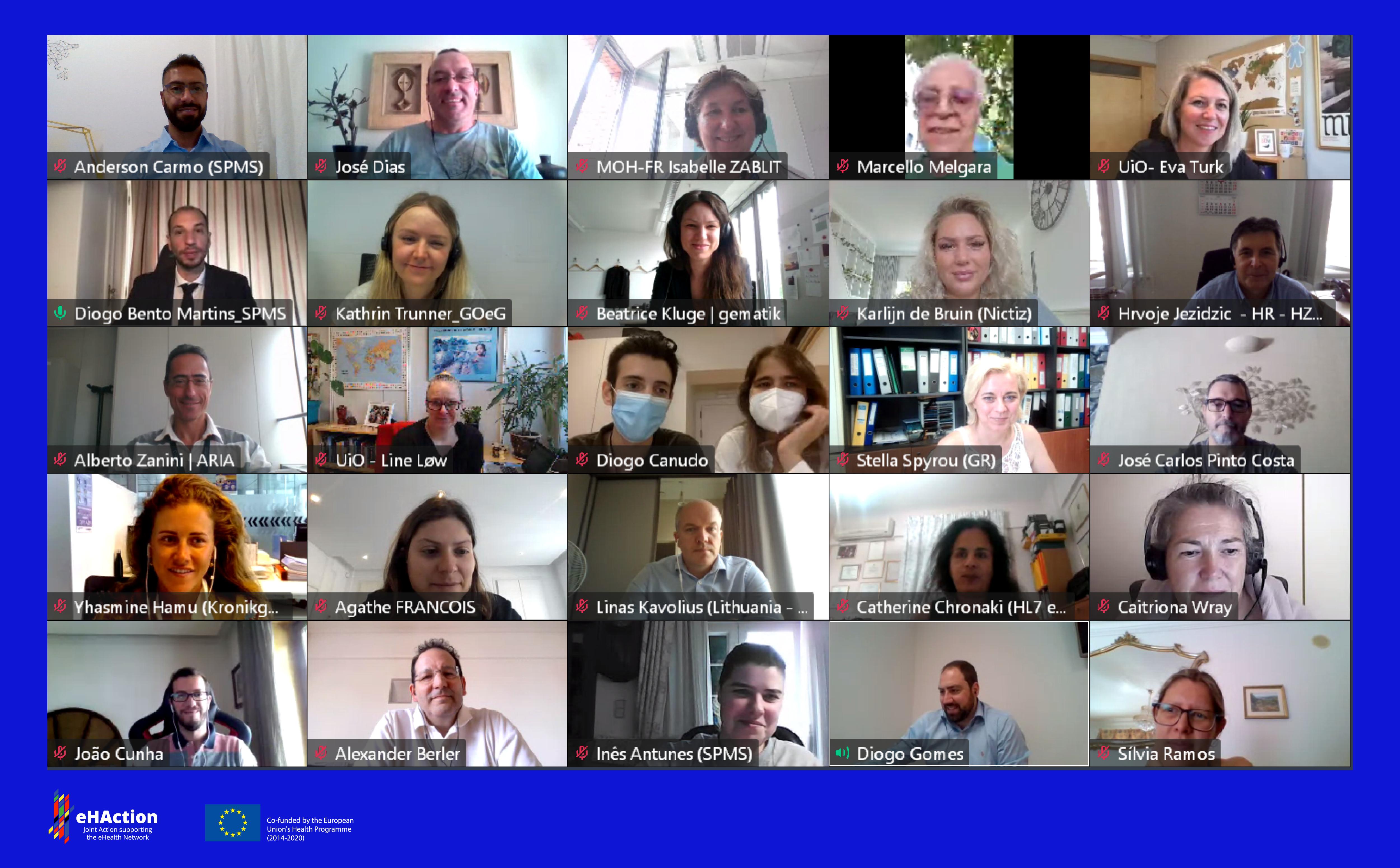 """imagem do sobre do 2726eHAction Closing Event """"EU Cooperation to Empower Citizens' Health & Care"""" was a success!"""